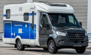 Mercedes eSprinter camper