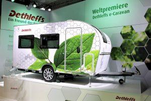 Dethleffs eCoco: elektrisch aangedreven caravan