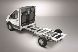 Ford Transit 2019 laagbouwchassis