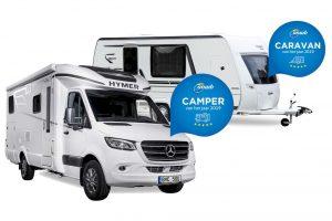 Caravan en Camper van het Jaar 2019