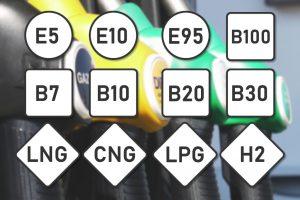 Nieuwe benamingen voor benzine en diesel