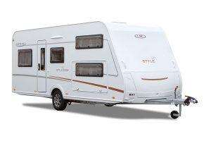 LMC introduceert Style Lift caravans met hefbed