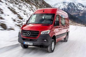 Mercedes Sprinter nu ook met 4×4-aandrijving te bestellen