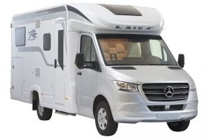 Ook Laika bouwt campers met Mercedes Sprinter