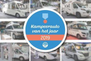 NKC Kampeerauto van het jaar 2019: Malibu, Knaus en Hymer