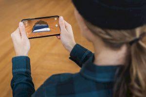 Kampeerspullen bekijken via Augmented Reality app