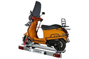 Memo presenteert nieuwe opklapbare scooterdrager voor campers