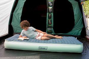 Comfortabel, isolerend luchtbed van Coleman