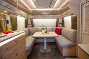 Dethleffs Nomad caravan model 2020
