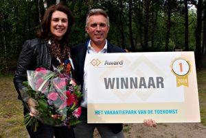 Camping Zonneweelde gekozen tot Vakantiepark van de toekomst 2019