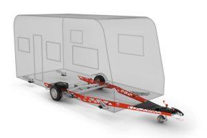 Al-Ko Vario X-chassis voor caravans is tot wel 30 procent lichter