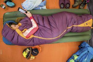 Speciaal voor vrouwen: Exped Comfort WMNS slaapzak