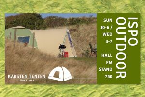 Karsten Tenten op Outdoor by ISPO