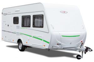 Nieuwe instapserie bij de LMC caravans