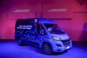 Fiat Ducato Electric campers