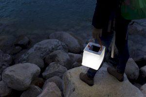 LuminAID opblaasbare solarlampen