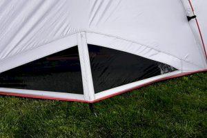Nieuw ventilatiesysteem in High Peak tenten