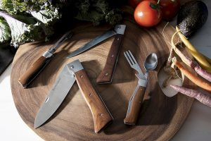 Adventure Chef Adam Glick en Messermeister lanceren opvouwbare koksmessenset