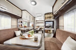 Hobby Premium caravan model 2020