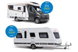 Succes voor Dethleffs en Bürstner bij verkiezing Caravan en Camper van het jaar 2020