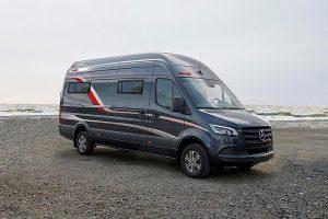 De Van is de eerste buscamper van Kabe