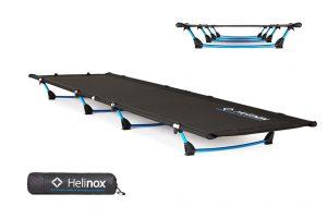Lite Cot: lichtgewicht, comfortabel campingbedje van Helinox