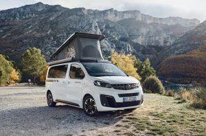 Hymer gaat ook Crosscamp buscampers op basis van Opel Zafira Life bouwen