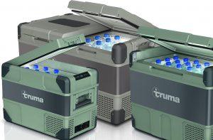 Acht nieuwe compressorkoelboxen van Truma