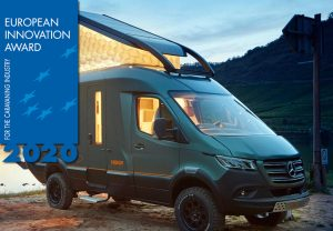 Hymer's VisionVenture concept wint drie European Innovation Awards
