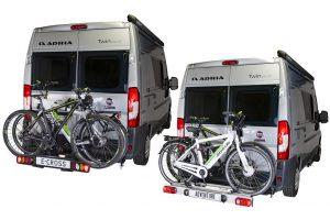 Nieuwe Van-Star fietsendragers van Memo