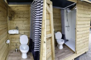 Campodoor Private Outhouse: oplossing voor privé-sanitair