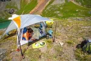 Vernieuwde Big Agnes Salt Creek tenten wegen amper de helft van vorige versie