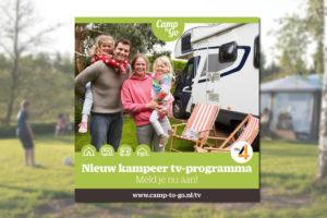 'Camp-to-Go' op TV