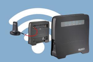 Makkelijk je eigen wifi in de camper of caravan met Teleco Wifi Van T 400 router