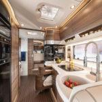 keuken van de Concorde Liner camper