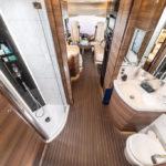 badkamer van de Concorde Liner camper