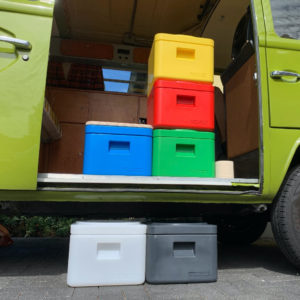Trenntolino droogtoilet kleuren