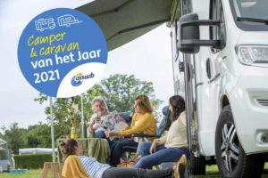 Verkiezing Camper en Caravan van het Jaar 2021