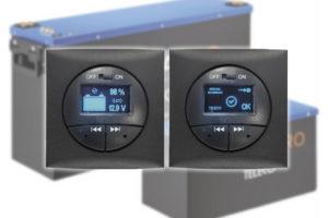 Teleco LiFePO4-accu's  bluetooth wandpaneel