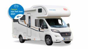 Camper van het Jaar 2021: Eura Mobil Activa One 650 HS