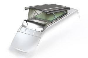 Nieuw Vela hefdak van Lippert Components
