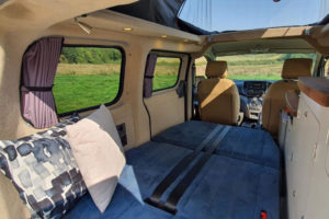 Nissan e-NV200 Camper Car elektrisch