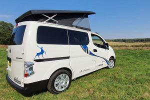 Nissan e-NV200 elektrische camper van Sussex Campervans