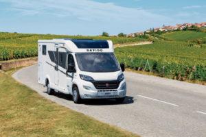Rapido C-serie: extra compacte halfintegraal campers