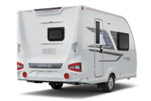 Nieuwe designs en indelingen bij Sprite caravans modeljaar 2021