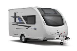 Sprite Alpine Sport caravans modeljaar 2021