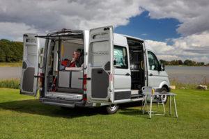 VW e-Crafter elektrische camper