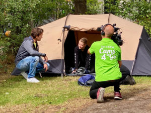 Camp to Go kamperen TV-programma Sander Janson
