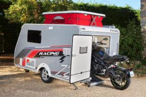 Silver Mini Freestyle 300 Racing: caravan voor motorrijders