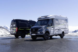 "Hymer presenteert stoere ""CrossOver""-edities"